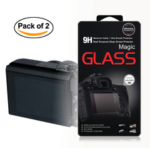 2x Self-Adhesive 0.3mm Glass LCD Screen Protector for Canon Powershot G7XII / G7X Mark II / G7X Digital Camera