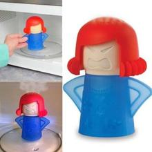 1pcs Useful  Microwave Cleaning Cute Cartoon  Microwave Food Steam Home Laundry Cleaner Household Cleaning Tools
