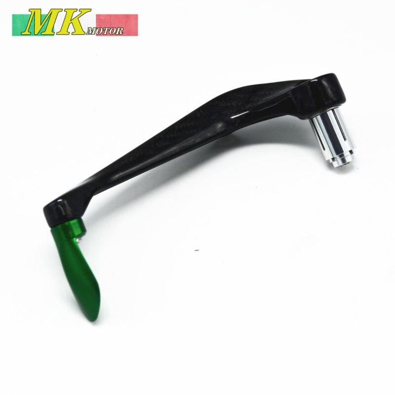 Universal Motorcycle Carbon fiber  Protector Handlebar Brake  Protect Guard For Kawasaki Ninja250 300 EX250 EX300 Z250 Z300 Z800<br><br>Aliexpress
