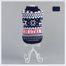 High Star Pet Black Dog Sweater Clothing Design Small Puppy Autumn Winter Dog Clothes for Dogs Wholesale&Dropping 2 Color 5 Size(China)