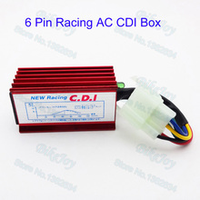 6 Pin Racing AC CDI Box For 50cc 110cc 125cc 150cc 250 cc Chinese Dirt Pit Bike 150cc 200cc 250cc Roketa Kazuma Sunl ATV Quad