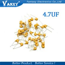100PCS 4.7UF 20% 5.08mm 475 50V MLCC multilayer monolithic ceramic capacitor 0805