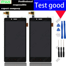 5.5 inch black lcd display + touch screen panel glass sensor assembly for xiaomi hongmi redmi note 1 redmi note1