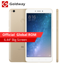 "Original Xiaomi Mi Max 2 Max2 Mobile Phone 4GB RAM 64GB 6.44"" Snapdragon 625 Octa Core 12.0MP OTG 5300mAh Battery Fingerprint ID(Hong Kong)"