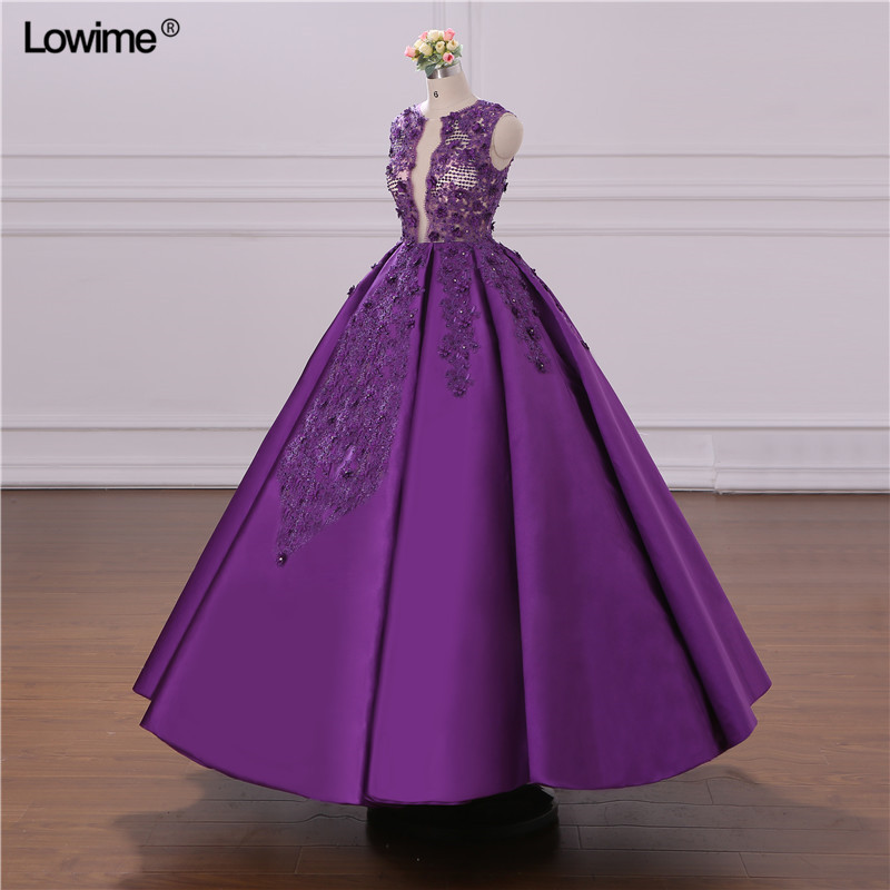 African Ball Gown Evening Dress 2018 Turkish Arabic Dubai Crystal Prom Dress For Wedding Moroccan Kaftan Formal Party Gowns (3)