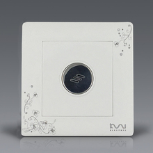 Free Shipping, Kempinski Luxury Wall Timer Switch, Ivory White, Sound and Light Control Time Delay Switch, AC 110~250V