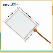 original 4 inch Touch Screen 94mm*73mm for BARCODE SCANNERS handheld device PDA Digitizer panel glass Replacement