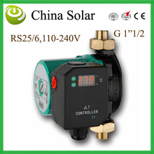 2017 Free Shipping Latest solar water heater controller,Delta T Controller 25-6,Combined with circulation pump RS-25/6