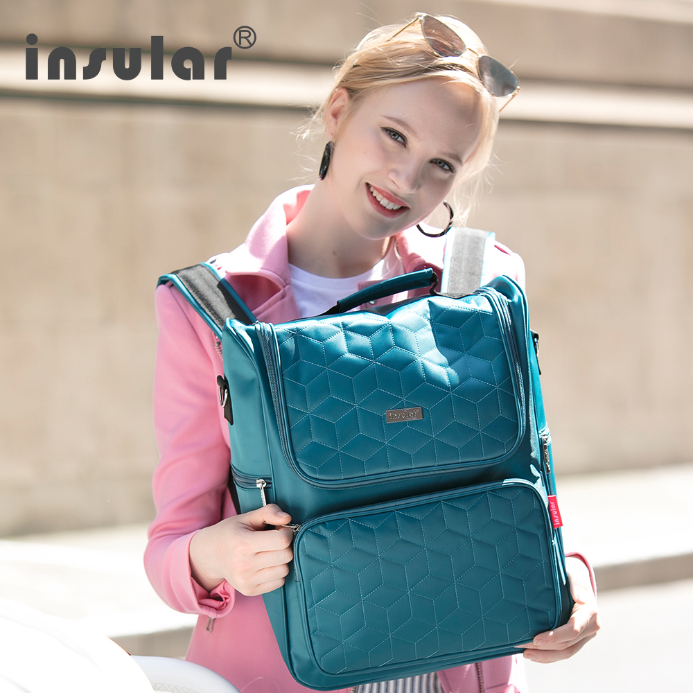 Diaper Bag Fashion Mummy Maternity Nappy Bag Brand Baby Travel Backpack Diaper Organizer Nursing Bag For Baby Stroller <br>