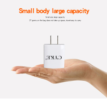 CYKE 5V 1A USB Charger Travel Wall Charger Adapter 5W Portable Smart Mobile Phone Charger China Plug White Available(China)