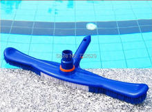 Intex or Bestway pool cleaning equipment brush and vacuum head cleaner 2 functions(China)