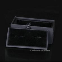 High Quality 50pcs Cufflink Boxes Festival Gift Box Jewelry Packaging Box Cufflink Holder Organizer For Men