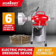 Australia Direct Mail Electric Drain Cleaner Heavy Duty 30mm Coil Plumbing Snake Sewerage Pipe Machine