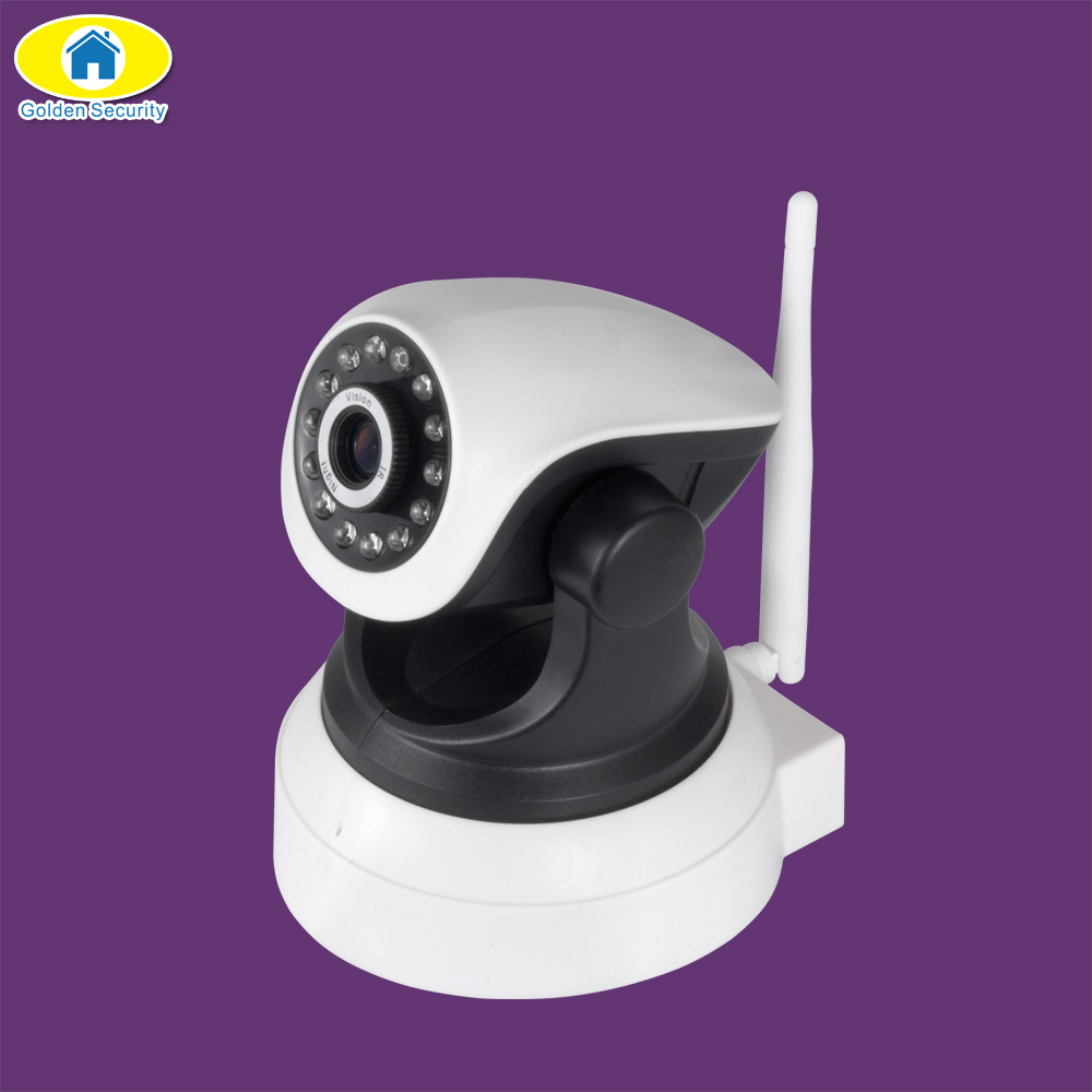 Golden Security HD IP Camera Wireless WiFi Wi-Fi Video Surveillance Night Security Camera Network Indoor Baby Monitor TF Card<br>
