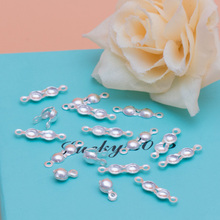 925 Sterling Silver Calottes End Crimps Beads Bright Sparkly Silver Ball chain ending clasps jewelry making  3mm 20pcs