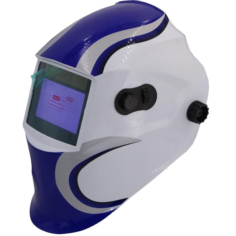 Altman blue Out adjust Big view 4 arc sensor grinding DIN5-DIN13 Solar auto darkening TIG MIG MMA welding mask/helmet/welder cap<br>
