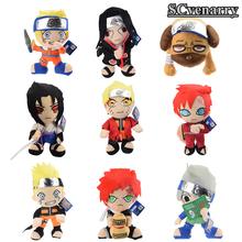 9 style Naruto Uzumaki Naruto & Hatake Kakashi & Gaara & Pakkun Dog Plush Toys Doll Stuffed Toys Soft Toy Gifts for Kids 30cm
