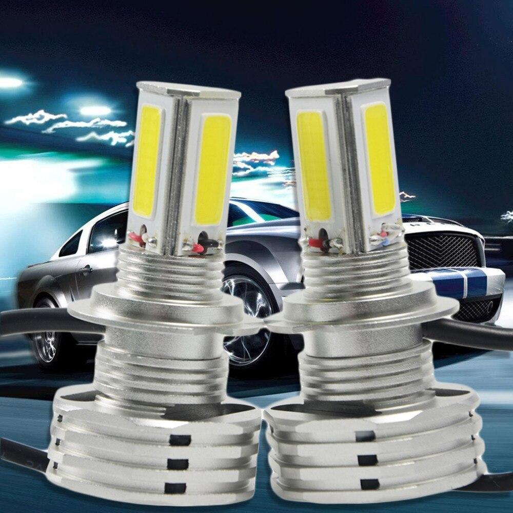 Cimiva 1 Pair White 6500-7000K 90W 9000LM High Power  COB Car LED H4/9003/HB2 Hi/Lo Beam Lamps HeadLight Kit Bulbs New<br><br>Aliexpress