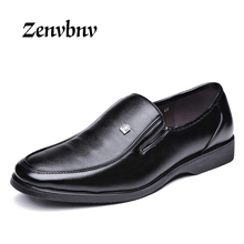 Buy ZENVBNV 2017 Men's Genuine Leather Shoes Business Dress Moccasins Flats Slip New Men's Casual Shoes Dress Mens Business Shoes for $22.76 in AliExpress store