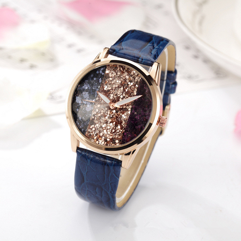 XG251 Womens Quartz Wristwatches Top Brand Luxury Rhinestone Lady Dress Watches Womens Bracelet Watch Relogio Feminino Leather<br>