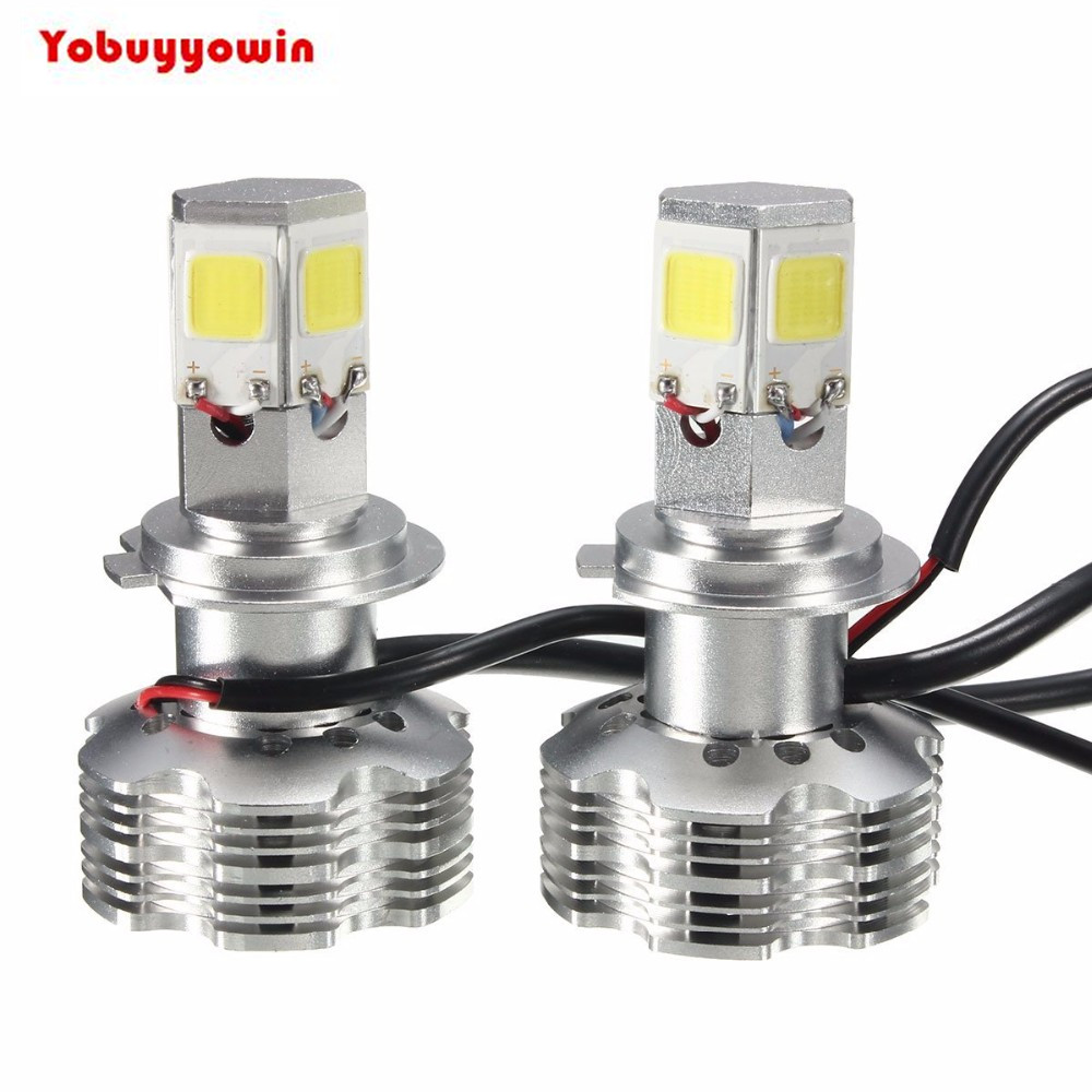 New!2x PX26D H7 Turbo Automotive LED Headlight Kit Bulbs 120W 12000LM 6000K White Light HID Replacement(H4 H8 H11 9004 9007 H13)<br>