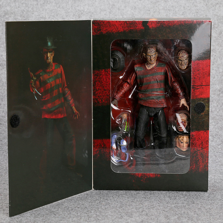 NECA A Nightmare on Elm Street Freddy Krueger 30th PVC Action Figure Collectible Toy 7 18CM MVFG262<br><br>Aliexpress