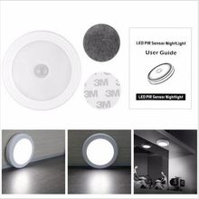 Magnetic Infrared IR Bright Motion Sensor Activated LED Wall Lights LED Light Auto On/Off Battery Operated for Hallway Pathway(China)
