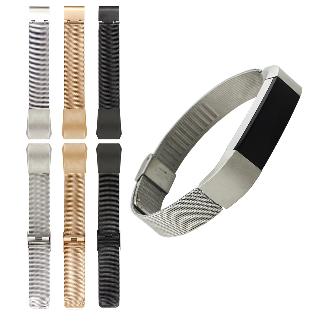 Milanese Bracelet Stainless Steel Metal Mesh Wrist Strap Watch Band For Fitbit Alta Tracker Replacement Band<br><br>Aliexpress