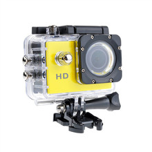 Full HD 1080P Action Camera Waterproof Car DVR Sports Camera Application Car Bike and Extreme Sports DV(China)