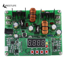 DC-DC Boost Module Digital Voltage Step-up Step-down Power Module Boost Buck Converter Board 38V 6A(China)