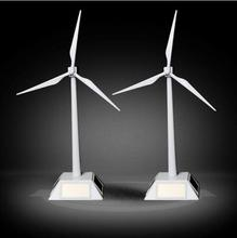 New arrive DIY Solar windmill model toys Plastic Assembled Model 3D Puzzle Assembling Solar Powered Windmill Best Gift For Kids(China)