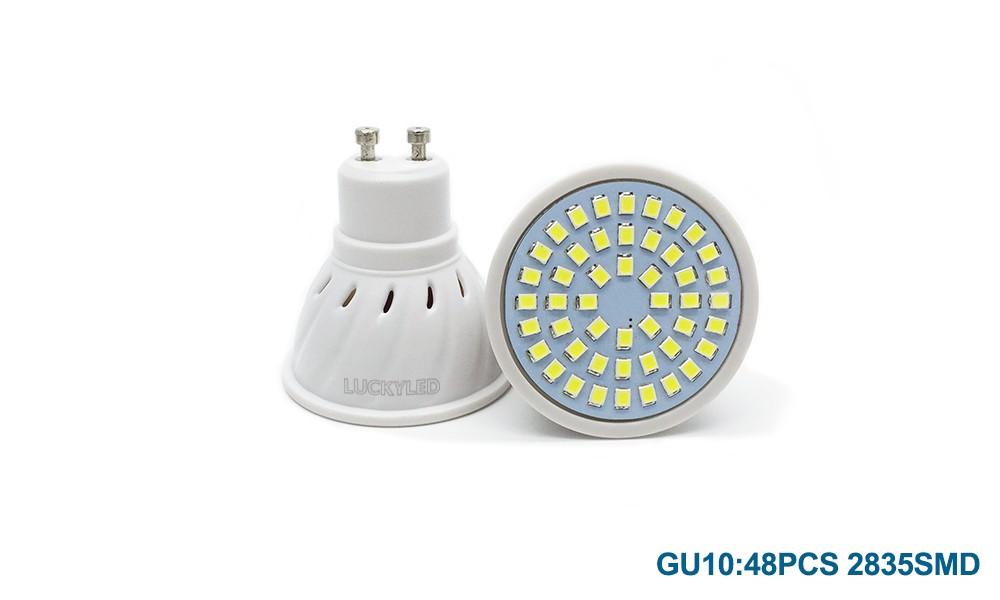 led bulb 48 2835 GU10