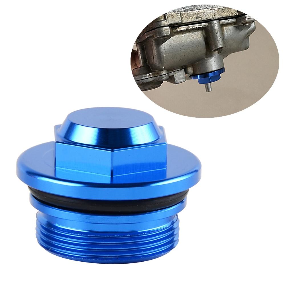 Carburetor Oil Drain Plug Screw Bolt for Yamaha WR450F WR426F WR400F WR250F YZ450F YZ426F YZ250X YZ250F YZ250 YZ85 TZ125 V-STAR