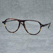 Vazrobe Acetato de Óculos Homens Mulheres óculos de Aviação Do Vintage  Armações de Óculos Homem Marca Feminina Janpanese Prescri. be985cac1f