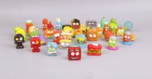O for U HOTSALE Original The Grossery Gang Mini Action Toy Figures Kids Playing Model Dolls Christmas Gift Toy 20Pcs/lot