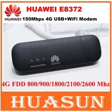 Original Unlocked 150Mbps Huawei E8372 E8372h-153 4G LTE Wifi Modem dongle CAT4 USB stick data card PK huawei E8278 W800Z