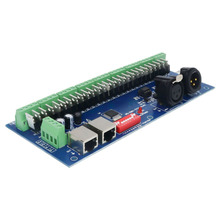 27CH Easy DMX512 Decoder,27 Channel DMX Controller,LED Drive ,Have(XLR&RJ45),9 Groups RGB Output,For LED Strip Module(China)
