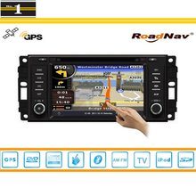 Car Radio For Dodge Ram 2009~2010 GPS Navigation Stereo Audio Video CD DVD Player S160 Multimedia System