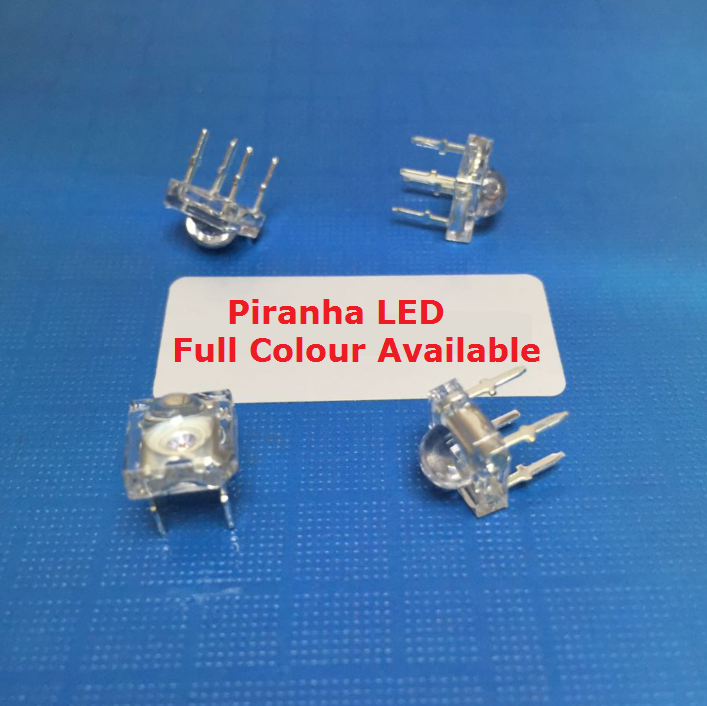 5Pcs Piranha LED Diode Red White blue yellow Green Amber Clear LED Diode 5mm F5 Light Emitting Diodes 4 pins  Super Brightness(China)