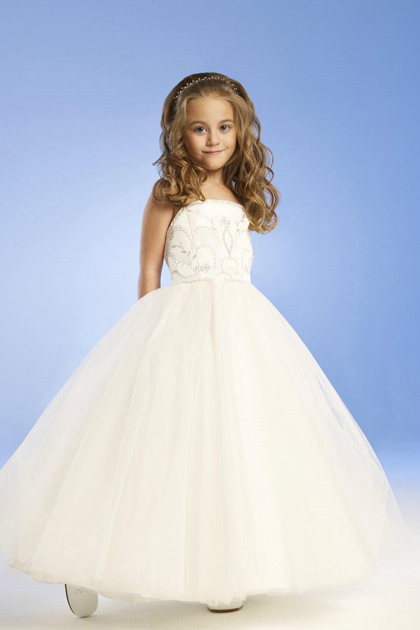 Фото пышные платье детям