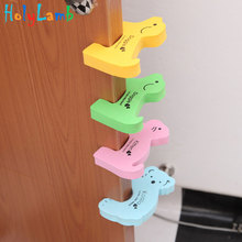 Buy 2Pcs/Lot Protection Baby Safety Cute Animal Security Card Door Child Kids Protection Children Home Furniture Seguridad Bebe for $1.27 in AliExpress store