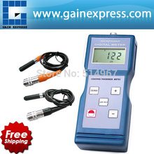Portable Digital Paint Coating Thickness Meter Gauge Ferrous F / Non-Ferrous NF Probes 1000 micro unit 0-1000um /0-40mil Range