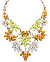 Leaf flowers jewelry necklace women accessories alibaba.com france