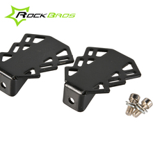 RockBros MTB Mountain Bike Bicycle Portable Rear Wheel Stand Pedals Absorption Pedal Foot Pedal Kid's Bike Rear Stand Cycling