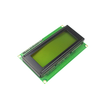 LCD Module Display Monitor LCD2004 2004 20*4 20X4 5V Character Green Backlight Screen And IIC I2C for arduino DIY KIT