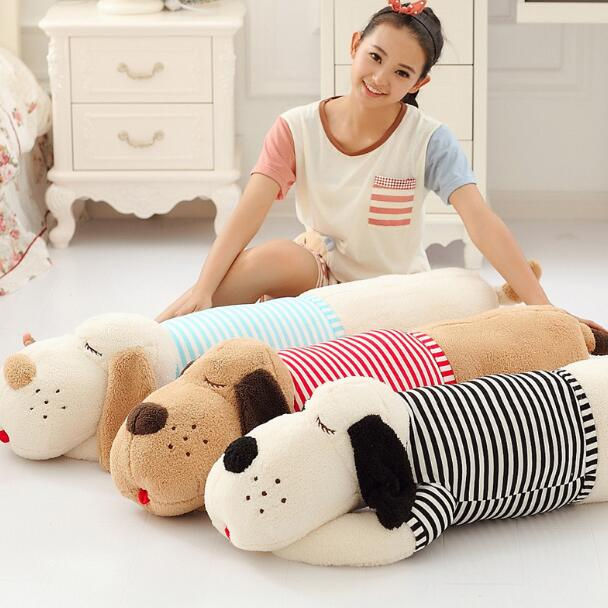 70 or 90cm Staffed Soft Plush Toy Giant Lies Prone Dog Doll Cute Pillow Creative Dolls Kids Toys Birthday Gift<br><br>Aliexpress