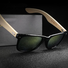 Steampunk Goggles Men Carter Bamboo Sunglasses Women Aviator Wooden Sun Glasses Armacao Luxury Brand Driver Wood Eyeglasses(China)
