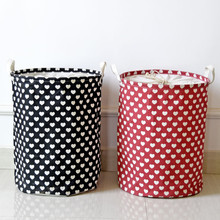 New Household Storage laundry basket fine Storage Basket high-grade Storage bucket Garbage Bag Home Office Multifunction Bag