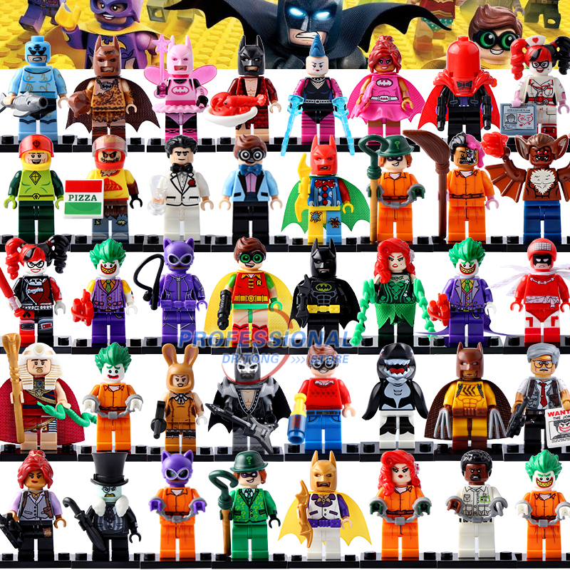 DR.TONG Marvel DC Mini Super Heroes Action Figures Building Blocks Compatible Batman Hulk Robin Deadpool Toys<br>