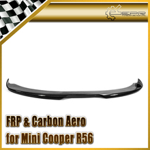 Car-styling For BMW Mini Cooper 11y~ R56 Duell AG Carbon Fiber Front Bumper Under Spoiler(China)